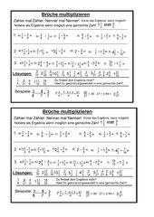 Brueche multiplizieren
