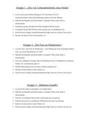 arbeitsteilige Gruppenarbeit zum Hinduismus mit Abschlusstest