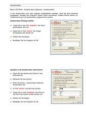 Info mit Screenshots