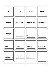 Mengen und Zahlenkarten bis 100