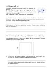 Punkt- und Geradenspiegelung für entdeckendes Lernen