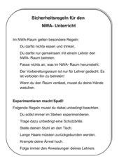 Sicherheit im NWA Raum