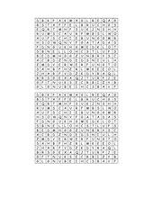 Bruchformen - Rätsel als Buchstabensuppe