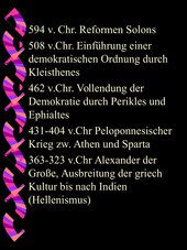 Überblick zur Griech. Geschichte