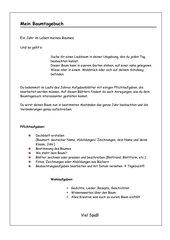 Anleitung Baumtagebuch und erste Beobachtungsaufgaben zum Winter