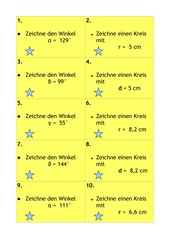 Winkel & Kreise konstruieren (Lernzirkel)