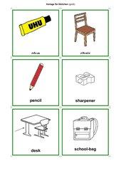 Wort-Bildkarten