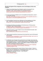 Fallanalysen Kündigungsschutz