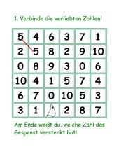 Spiel Verliebte Zahlen  Mathematik