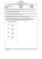Test: Währungsrechnen