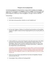 Der Faschingskobold - Text mit RS-Übungen