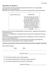 Elternbrief zur Ganzschrift