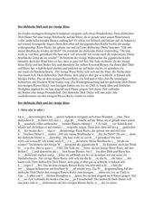 Lückentext Deutsch Klasse 6- Langes i (ie oder i)+ Inhaltsangabe