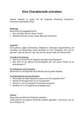 Charakterisierung schreiben 9 klasse bachelorarbeit introduction schreiben