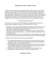 Papierfliegerprojekt NWA 5. Klasse (Physik, B-W)