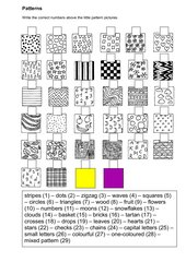 Patterns - Matching Exercise