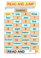 Read and Jump - Numbers