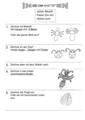 Insekten gestalten