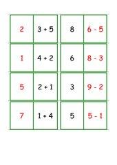Domino Addition/Subtraktion bis 10