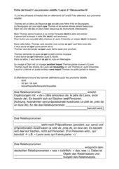 Arbeitsblatt Relativpronomen Lektion 2 Band 3