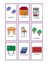 Kartenspiel zur Satzbildung