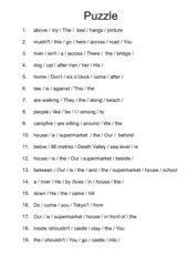 sentence-puzzle