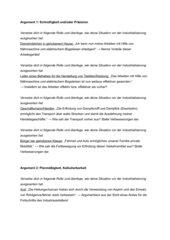 Diskussionskarten Industrialisierung