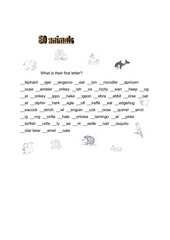 60 animals