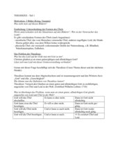 Unterrichtsmaterial zum Thema Theodizee 12.Klasse