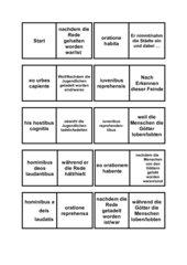 Ablativus Absolutus Dominospiel