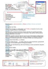 Privatbrief DIN 5008 - Infoblatt