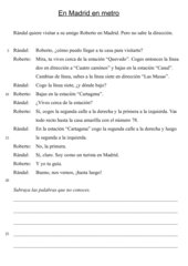 Filtertext: En Madrid en metro