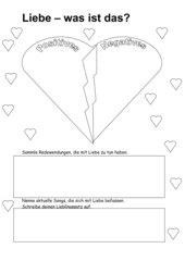 Freundschaft liebe sexualität unterrichtsmaterial