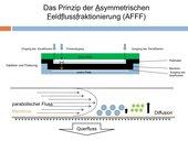 Asymmetrischen Feldflussfraktionierung