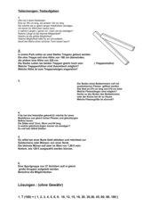Teilermengen- Textaufgaben