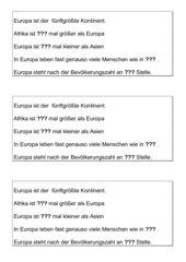 Laufdiktat Größe Europas