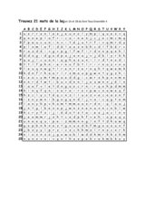Wortsuchrätsel zu lecon 1A + B Tous Ensemble 4