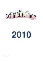 Kalender 2010 - Schmetterlinge