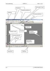 Bildschirm-Beschreibung WORD 2003