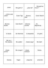 Spanisch-Domino