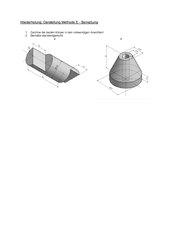 Darstellung Methode E und Bemaßung