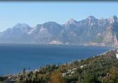 Taurus Gebirge hinter Antalya