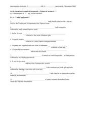 Klausur GK11 gérondif - plaindre - permis de vacances