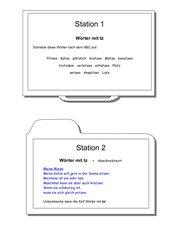 Stationen: tz