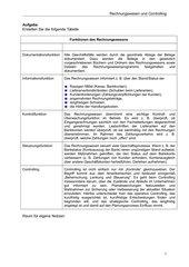 Funktionen des Rechnungswesens