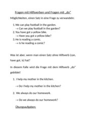 Fragen mit