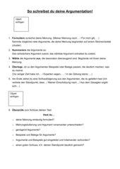 Erörterung_Schreibplan