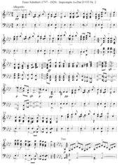 Franz Schubert: Impromptu As-Dur D 935 Nr. 2