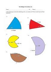 Kreisbögen berechnen (2)