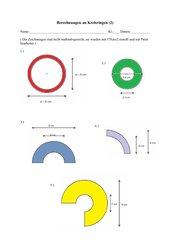 Berechnungen an Kreisringen (2)
